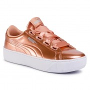 Sneakers PUMA - Vikky Platform Ribbon P 366419 05 Dusty Coral/Dusty Colal