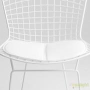 Perna din piele sintetica alba sau neagra pentru scaunul A-perna Wir CF