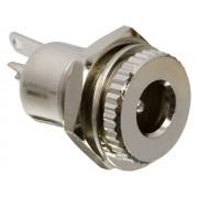 GI 05156 DC aljzat 5,5x2,5mm beépíthető