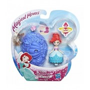 Disney Princess - Mini papusa Ariel, cu miscari magice