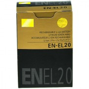 En-el20 Rechargeable Battery For Nikon 1j1 1j2 1j3 s1 coolpix Cameras 1020 mAh