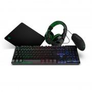 BG Gaming Pack Combo Gaming BG X4 Rato + Tapete + Headset + Teclado