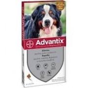 Bayer Animali Advantix Spot On Per Cani Oltre 40kg Fino A 60kg (4 Pipette)