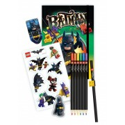 Bullyland 90381 - LEGO Batman Movie Schreibwaren-Set (6-teilig)