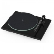 Pro-Ject T1 Piano Black turntable w/ Ortofon OM5e cartridge