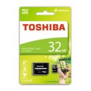 Card de memorie MicroSDHC 32 GB Toshiba + Adaptor SD