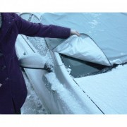 Magnetisch autoscherm tegen ijs sneeuw en zon