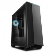 Кутия за компютър DeepCool EARLKASE RGB V2, ATX/Micro ATX/Mini-ITX, черен, DP-ATX-ERLKBK-GLSRGBV2