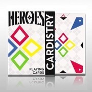 Devo's Cardistry Heroes Playing Cards Limited Edition Deck by World Card Expert