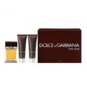Dolce & Gabbana The One 100ml Apă De Toaletă + 50ml Gel de duș + 50ml After Shave Balsam I Set