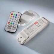 Multicontroler (RGB, Nuante de alb, Dimmer) Mean Well RFP-M8M4-5A RGBW cu telecomanda 12V (240W) 24V (480W)