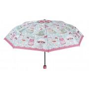 Blooming Brollies Umbrelă pliabilă pentru femei Macaroon Theme Folding Umbrella 25915B
