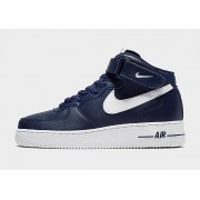 Nike Air Force 1 Mid Heren - Blue/White