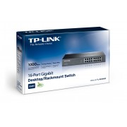 SWITCH RACK TP-LINK/24PTOS GIGABIT/SAVE ENERGY 40%/TL-SG1024