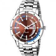 Lava Creation Analogue Maroon Dial Day And Date Function watch for Gentlemen Premium Quality Men's Watch ( 2034-MR )