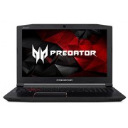 "Acer Predator Helios 300 Gaming Laptop, Intel Core i7 CPU, GeForce GTX 1060 6GB, VR Ready, 15.6"" Full HD, 16GB DDR4, 256GB SSD, Red Backlit KB, Metal"
