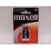 Maxell 9V baterie zinc carbon 6F22 MN1604