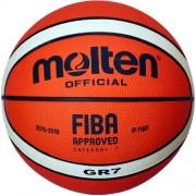 Molten basketbal GR (oranje / creme)