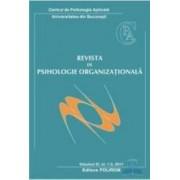 Revista de psihologie organizationala vol Xi nr 1-2 2011