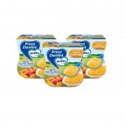 Mellin Primi Dentini Frutta - Kit 3x Primi Dentini Frutta Mista - Kit 3x Confezione da 200 g ℮ (2 vasetti x 100 g)
