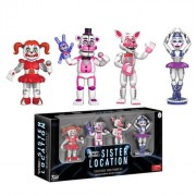 Action Figure Pack 4 Figuras Funko - Five Nights at Freddy's: Sister Location