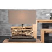 Tafellamp Patong bruin, duurzaam drijfhout