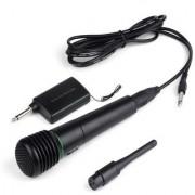 CORDLESS Wireless Singing Microphone Mic speaker Receiver System U