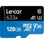 Lexar 633X 128 GB SDHC Class 10 95 Mbps Memory Card