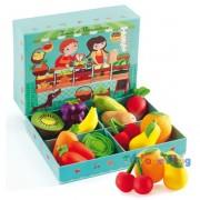 Zöldséges 12 db zöldség-gyümölcs - Djeco