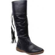 Foot Candy Boots For Women(Black)