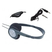 Panasonic Auriculares con cable PANASONIC RP-HT090E-H (On ear - Gris)