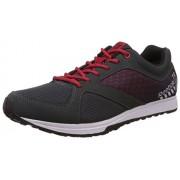 Reebok Men's Train Grey, Red, White and Black Multisport Training Shoes - 9 UK