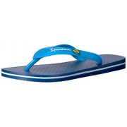 Ipanema Brazil Kids Flip Flop (Toddler/Little Kid/Big Kid), Blue/Blue, 13-1 M US Little Kid