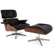 Famous Design Fauteuil Lounge Eames - Noyer