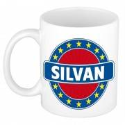 Shoppartners Namen koffiemok / theebeker Silvan 300 ml