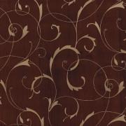 Égerfa barna arany intarzia mintás öntapadós tapéta