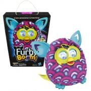 Hasbro Year 2013 Furby Boom Series 5 Inch Tall Electronic App Plush Toy Figure - Purple
