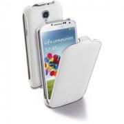 Flap калъф за Samsung Galaxy S4 бял Cellular line