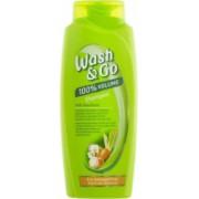 Sampon WASH and GO Volume 400 ml Pentru Par Deteriorat Cu Extract de Unt de Shea