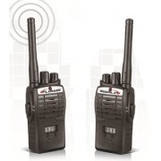 Skywalk Portable InterPhone Walkie Talkie with LCD Display with 2 9 V Batteries