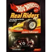 Hot Wheels Real Rider Custom Volkswagen 1:64 Scale Red Series 5