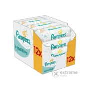 Pampers Sensitive vlažne maramice (12x56 kom)