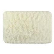 Covor pufos pentru interior sau baie anti-alunecare 58.5x40 cm culoare crem