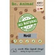 Dr. Animal 100% szárított nyúlhús lapok 80g