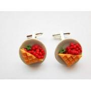 Strawberry Pie 2 Cufflinks