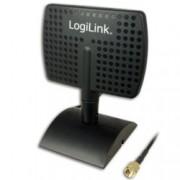 Антена LogiLink WL0091, 2.5Ghz, насочена, 7dBi, вътрешна, RP-SMA