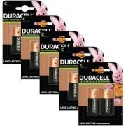 Duracell Piles Duracell Rechargeables de type C x 10 (BUN0057A)