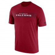 Nike Dri-FIT Legend Seismic (NFL Falcons) Herren-T-Shirt - Rot