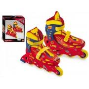 Role copii 4 roti in linie Cars 3 reglabile marimi 33-36