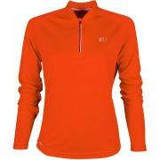 NEWLINE BASE Dámské běžecké tričko se zipem 13370-017 Oranžová L